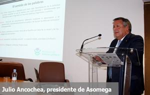 """Julio Ancochea, presidente de Asomega, abrió el ciclo """"Medicina y Humanidades"""""""