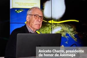 Aniceto Charro, presidente de honor de Asomega