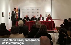 José María Eiros, catedrático de Microbiología
