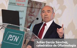 Julián García Sánchez, catedrático de Oftalmología