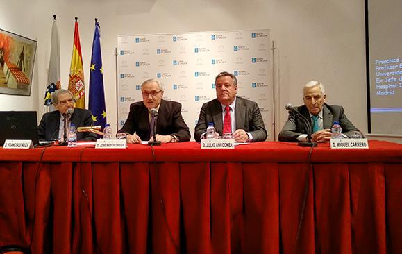 Francisco Ruza, José Ramón Ónega, Julio Ancochea y Miguel Carrero