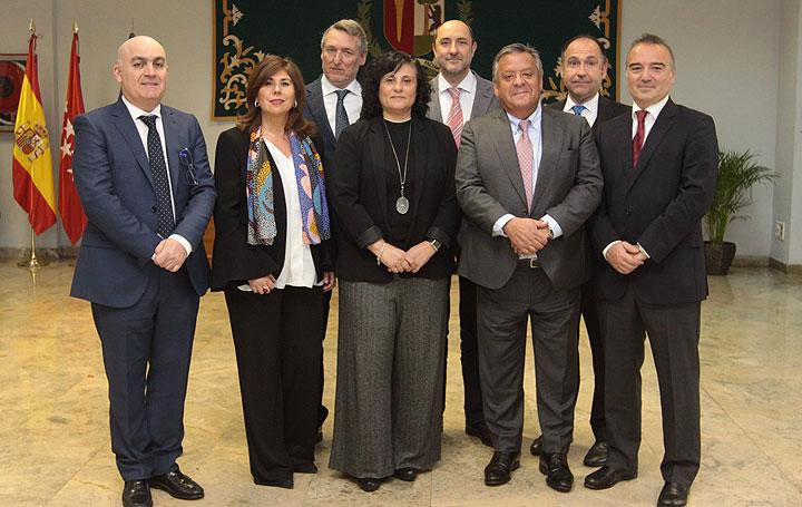 José Conforto, Consuelo Pereira, Domingo Orozco, Nuria Fernández, Antonio Fernández, Julio Ancochea, Joan Soriano y David Asín.