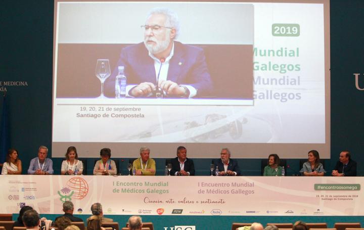 Intervención de Miguel Santalices en la clausura del I Encontro Mundial de Médicos Gallegos