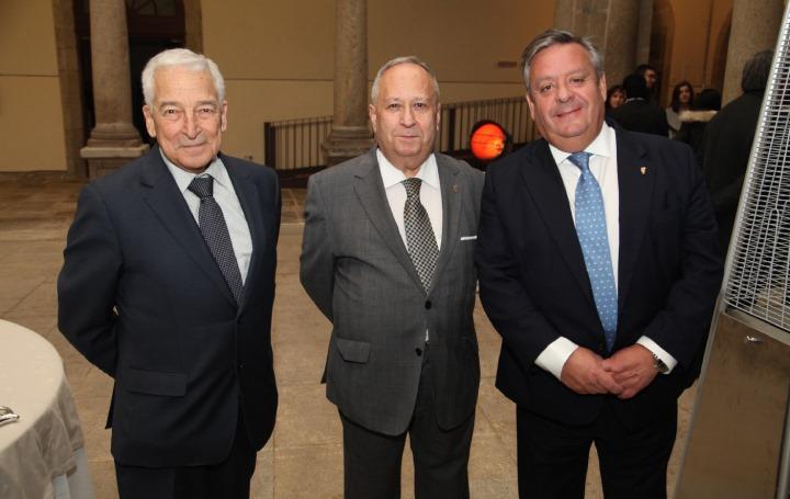 Miguel Carrero, José Carro y Julio Ancochea