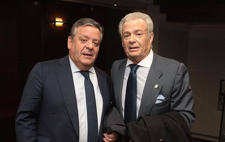 Julio Ancochea y José Manuel Pérez Vázquez