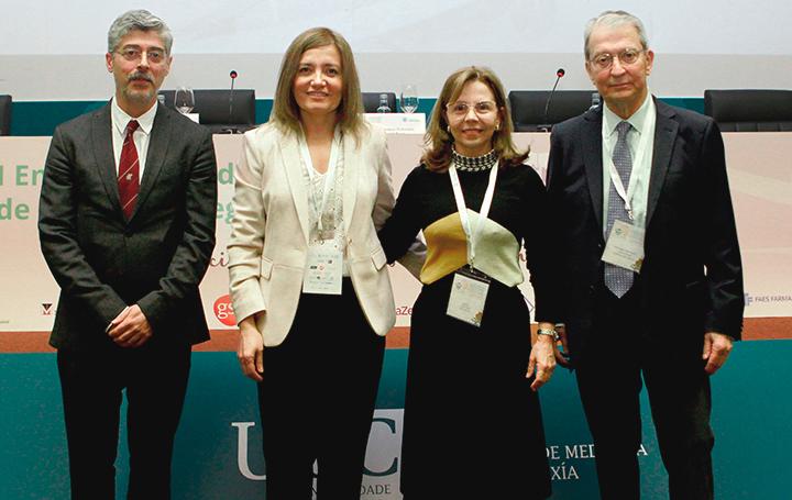 Ana Pérez Domínguez moderó una de las mesas del I Encontro Mundial de Médicos Galegos