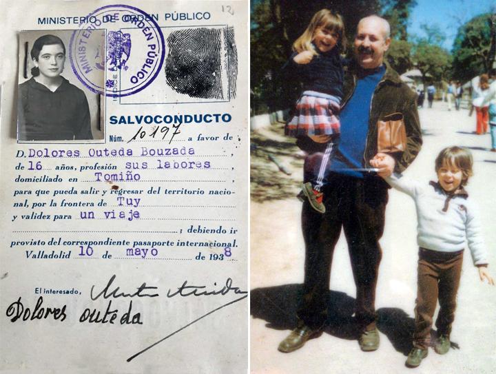 Recuerdos familiares de Diego Aníbal Rodríguez
