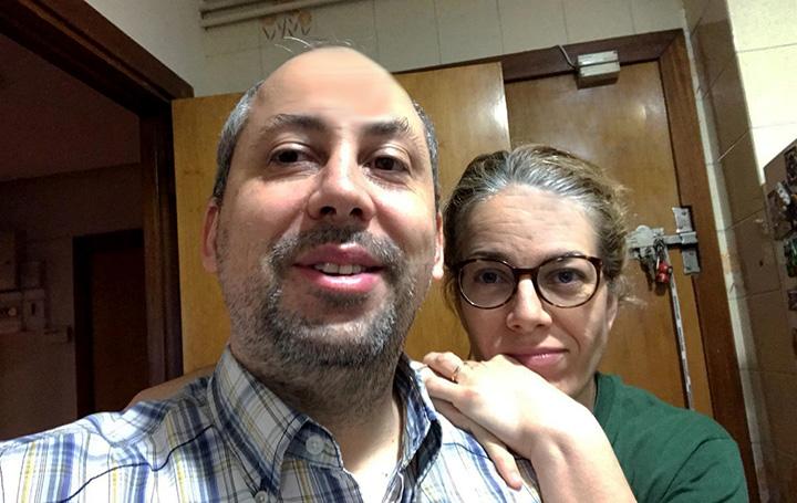 Diego Aníbal Rodríguez y Marta Chicot