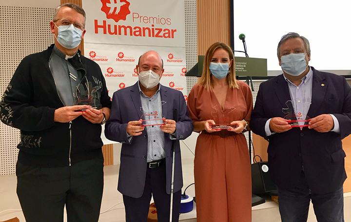 Los galardonados en los Premios Humanizar 2020