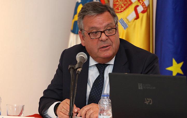 Julio Ancochea, presidente de Asomega