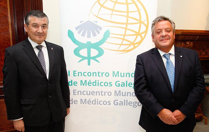 Rafael López y Julio Ancochea