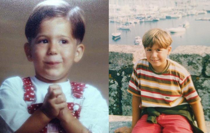 Imágenes de la infancia del doctor Iglesias Puzas