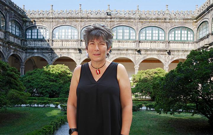 Esther Barreiro en el I Encontro Mundial de Médicos Galegos