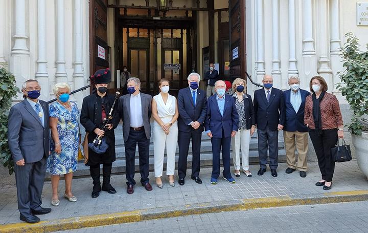 Foto del homenaje a Pardo Bazán en Madrid