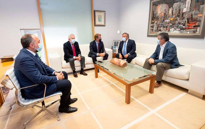 García Comesaña, Santalices, Núñez Feijóo, Ancochea y Rafael López.