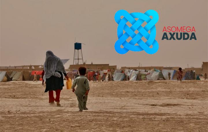 La ayuda a Afganistán, una de las primeras acciones de Asomega Axuda