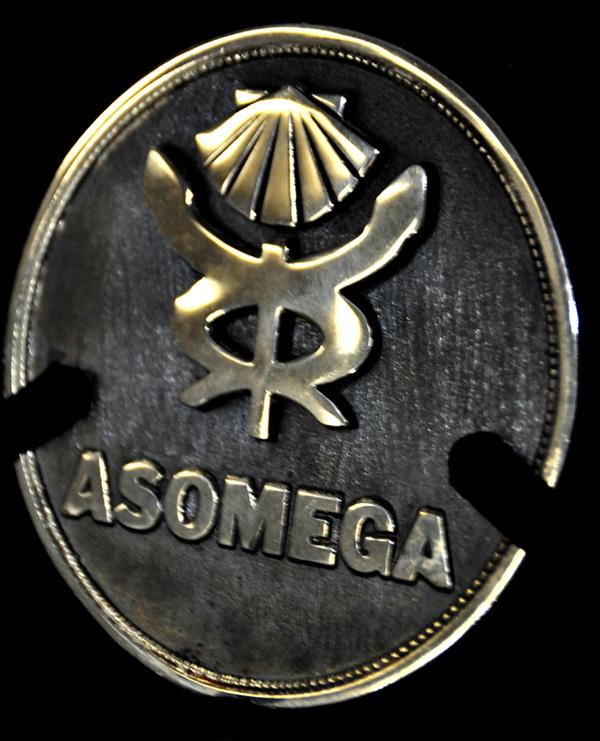 Medalla que ha recibido la ganadora del XXII Premio Nóvoa Santos.