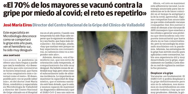 Pinche sobre la imagen para leer la entrevista completa a José María Eiros.