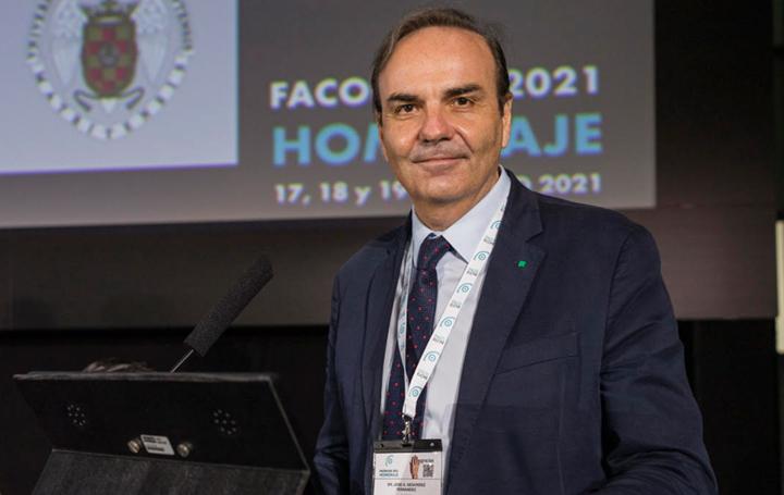 José Antonio Gegúndez, Premio Castroviejo de la Sociedad Española de Oftalmología